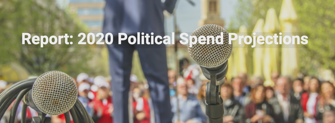 Political Spend Report campaign banner